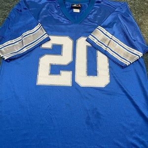 Other - DETROIT LIONS LOGO ATHLETIC JERSEY